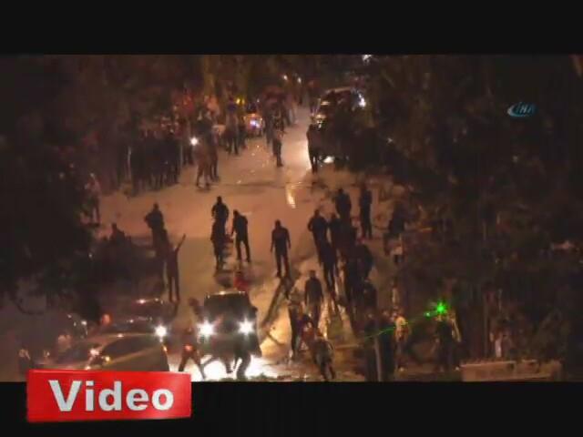 Ankara'da 'Gezi' müdahalesi