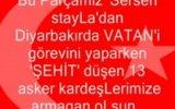 Diyarbakır'da 13 Şehit Var