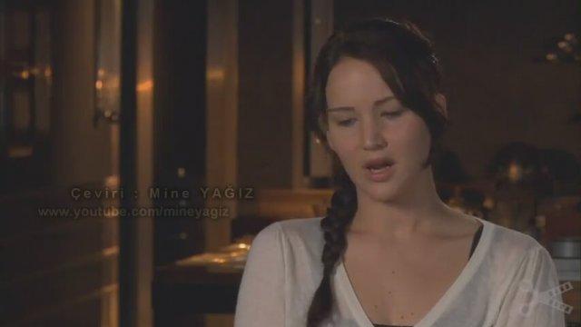 Jennifer Lawrence 'Açlık Oyunları' Röportajı - Altyazılı