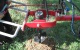 Toprak Burgusu Çukur Açma Makinası