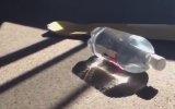 Su dolu pet şişe evi nasıl yakar