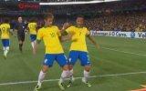 Neymar ve Robinho Dans İkilisi