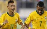 Neymar ve Robinho'dan Dans Şov