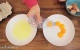 Yumurtanın Beyazıyla Sarısını Bir Saniyede Ayırmak