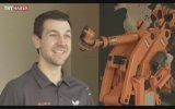 Robotla pinpon maçı