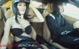 Ferraride Seksi Kızla Hız Testi