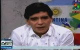 Maradona'dan Canlı Yayında Şok Hareket!