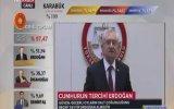 """""""Geçerli oyların salt çoğunluğu Erdoğanın"""""""