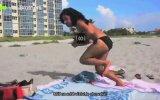 Plajda Eşek Arısı Şakası