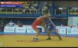 Güreşte inanılmaz teknik!