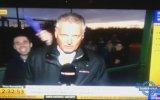 Sky Sports Muhabirine Canlı Yayında Kötü Süpriz!