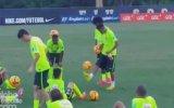 Neymar Antrenmanda Şov Yaptı
