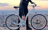 Yalnızca 1 Saniyede Katlanan Elektrikli Bisiklet